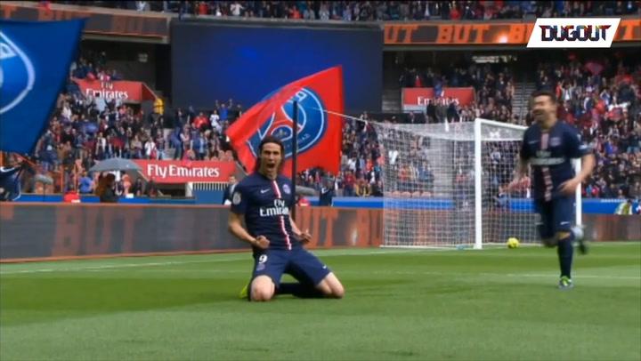 CAVANI BEST 5 GOALS WITH PARIS