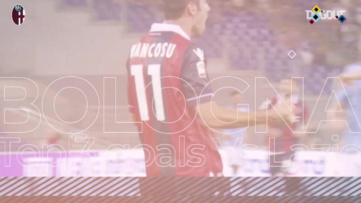 Bologna's top three goals at Lazio