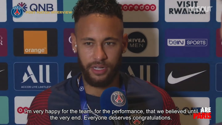Neymar: We believed until the very end