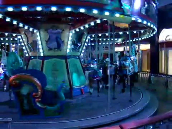 Oasis Of The Seas Carousel In Action