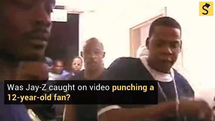 Jay Z Slaps A Girl