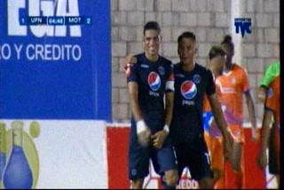 ¡GOOOOOL DE MOTAGUA! JP Montes pone el 2-1 ante la UPN