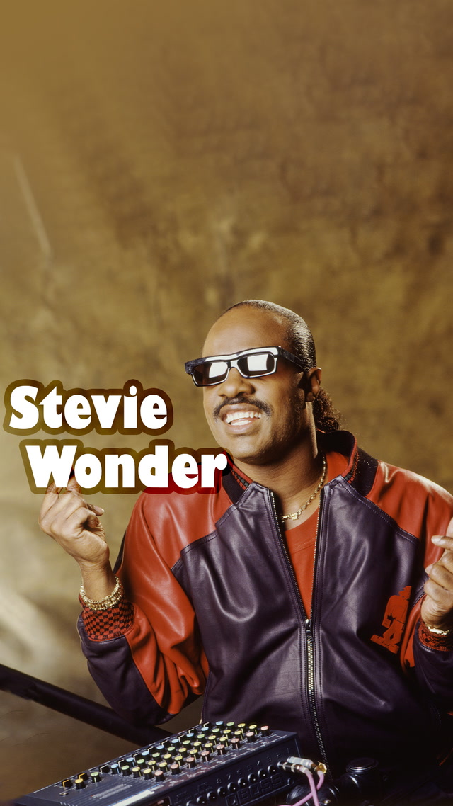 Tek kişilik orkestra Stevie Wonder
