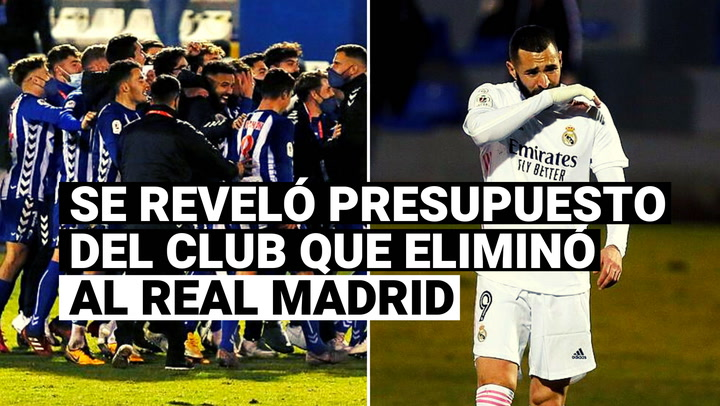Presidente del Alcoyano reveló presupuesto del club que eliminó al Real Madrid de la Copa del Rey
