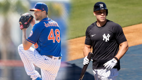 What are the odds the Mets and Yankees exceed their over/under win totals?