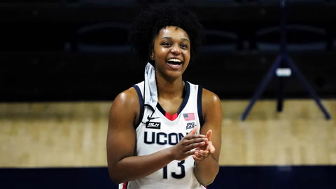 UConn Huskies junior Christyn Williams opens up about her teammates
