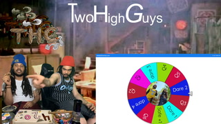 THG question or dare spin wheel