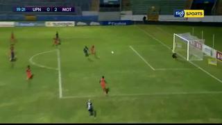 Motagua vence 2-1 a los Lobos UPNFM en el Nacional de Tegucigalpa