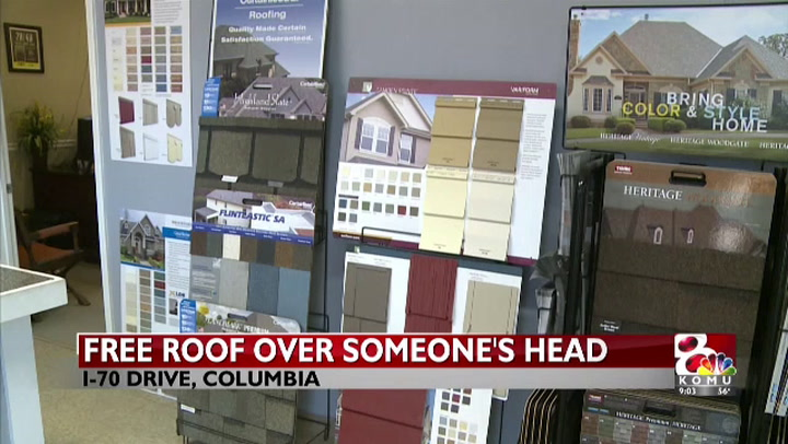 Columbia business is giving free roof to someone special