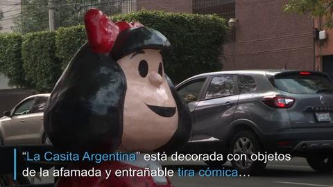 El restaurante en México inspirado en Mafalda que llora la muerte de Quino