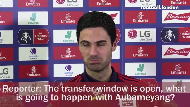 Arteta ya avisó de que Aubameyang quiere que se quede en el Arsenal