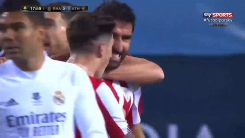 Real Madrid 0-1 Athletic de Bilbao (Supercopa de España)