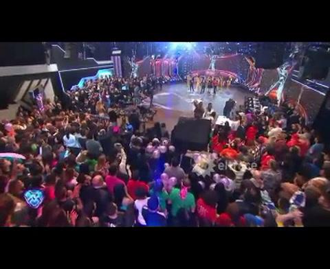 El tremendo blooper en vivo en el Bailando sobre el noviazgo de Juanita Tinelli y Toto Otero