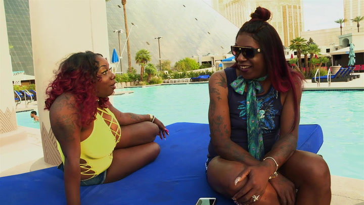 Big Freedia and Her Girls Have a Kiki by the Pool in Vegas