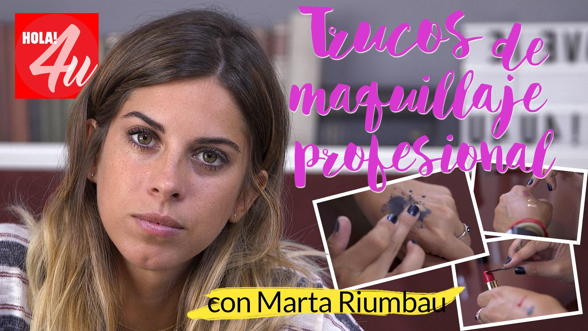 Trucos de maquillaje profesional, ¡mezcla productos! con Marta Riumbau
