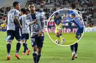 América recibe duro golpe en los cuartos de final ante Pachuca y tendrá que apelar a la heroica en la vuelta