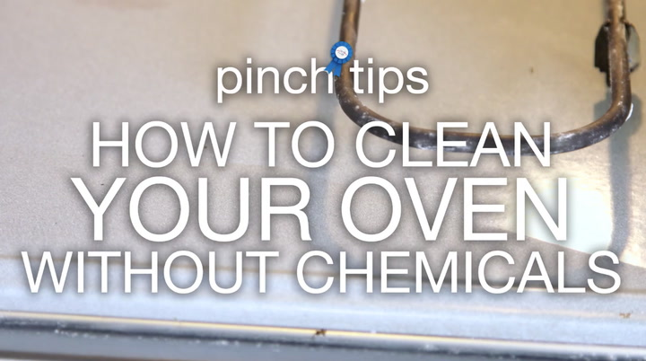 pinch tips: How to Clean Your Oven Without Chemicals