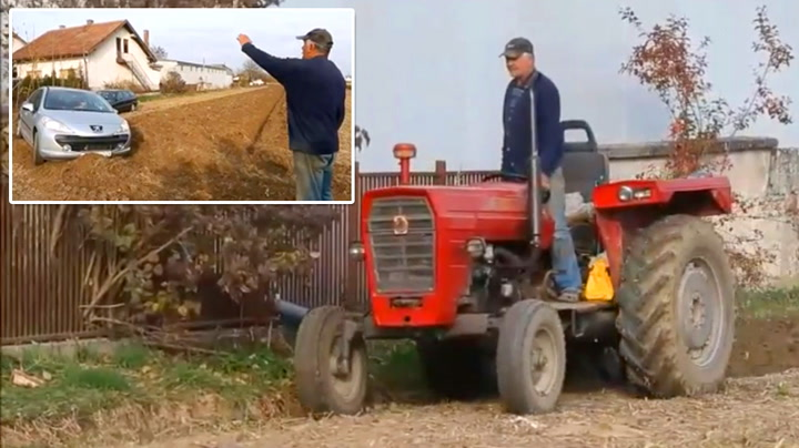 Bilistene ignorerer alle advarsler – da tar bonden hevn