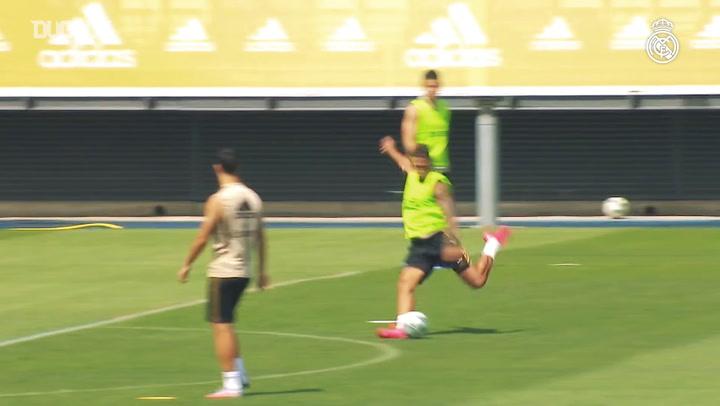 Real Madrid Espanyol Maçına Hazırlanıyor