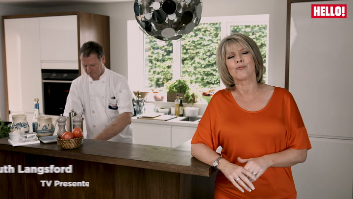 Ruth Langsford shares her tips for the perfect home made fish and chips