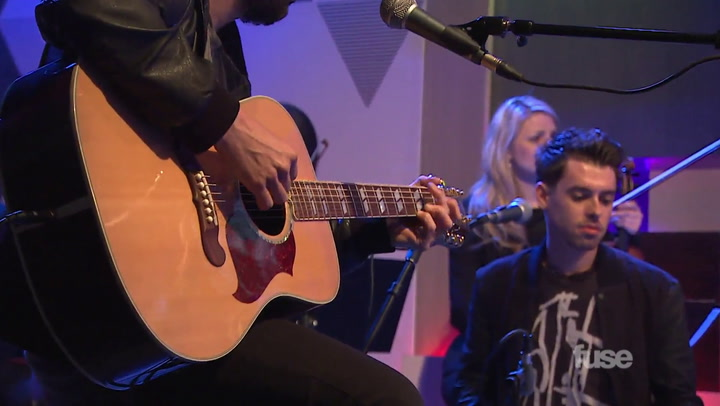 "Shows: White Guy Talk Show: Digital Exclusive Performance: Cash Cash - ""Take Me Home"" Acoustic"