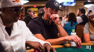 Olympic swimmer Michael Phelps plays in WSOP event