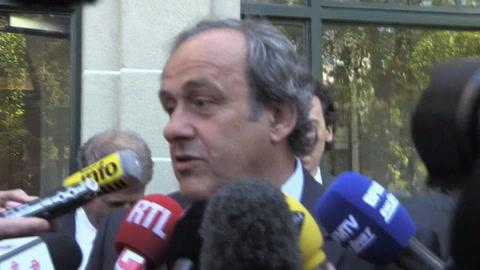 Michel Platini detenido en París en relación a la atribución del Mundial de Catar