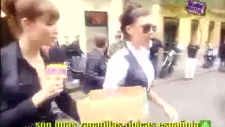 El bochornoso momento entre una joven reportera Pilar Rubio y Victoria Beckham