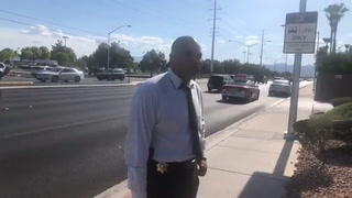 Las Vegas police official talks about fatal stabbing