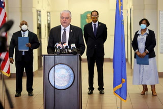 Gov. Sisolak and state leaders discuss recent protests and community relation improvements