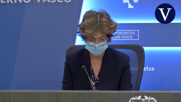 El Gobierno Vasco estudia restablecer el estado de emergencia sanitaria