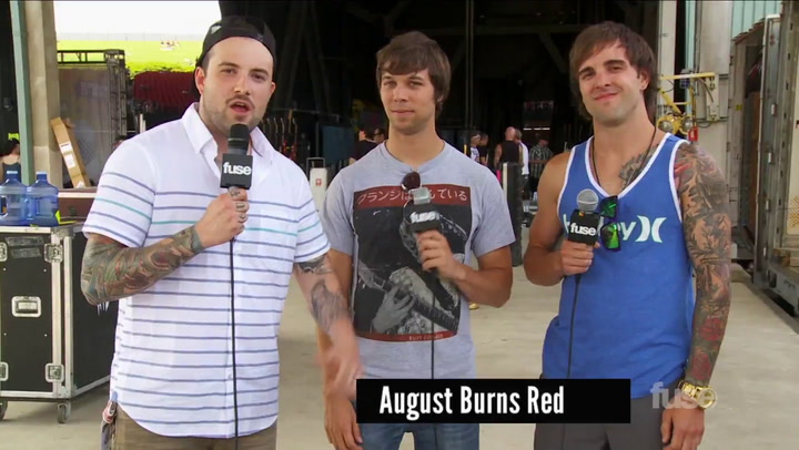 August Burns Red's Do's and Don'ts of Warped Tour Mosh Pits