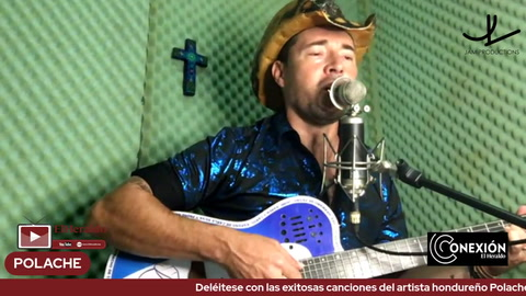 Deléitese con las exitosas canciones del artista hondureño Polache