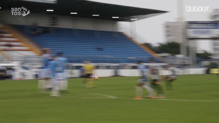 Santos beat Marília in Copa São Paulo de Futebol Júnior