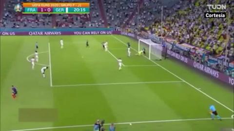 Francia 1 - 0 Alemania (Eurocopa)