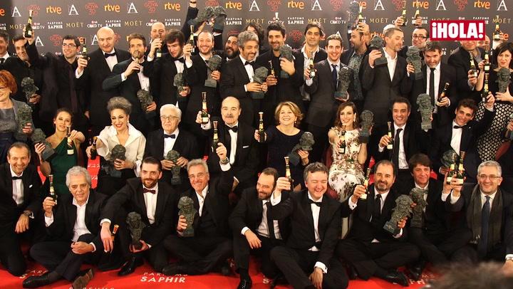 Los mejores momentos de la gran noche del cine español