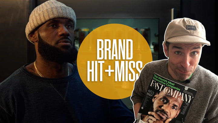 How Lebron James's new Mountain Dew spot is a master class in personal branding