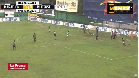 Marathón 3 - 0 Platense (Jornada 10 Liga Nacional)