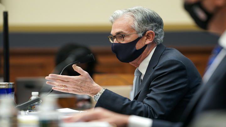 Fed Chair Powell Says Dogecoin, GameStop Symbolize Some Froth in Stock Markets