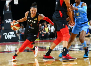 Las Vegas Aces Figuring Out How to Work Best as a Team – Video Highlights