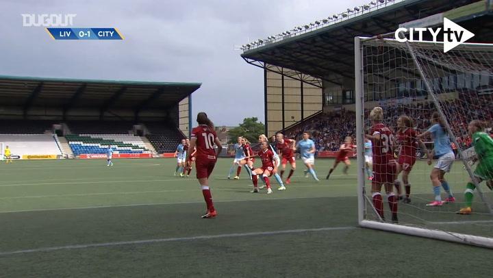 Man City Women score three against Liverpool