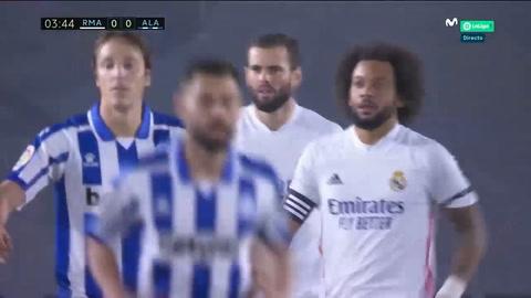 Real Madrid 0-1 Alavés (Liga Española)