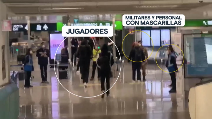 El desolador panorama que se encontró el Madrid de basket en Milán