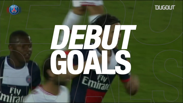 Debut Goals: Edinson Cavani Vs Ajaccio