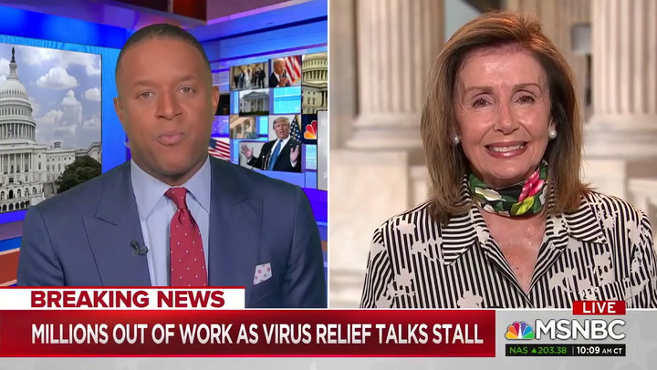 Pelosi: The Pandemic 'Is Only Going to Get Worse' GOP Are 'Going to Have to Come to the Table'