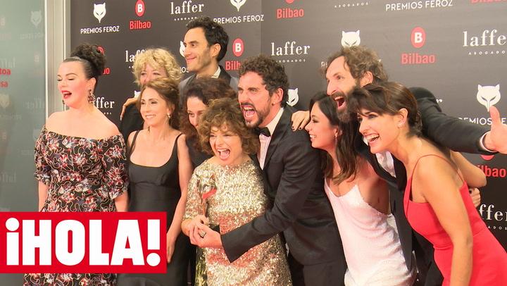 Lo que solo vio ¡HOLA!: así vivieron los protagonistas de la noche los Premios Feroz