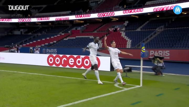 Floian Thauvin'in PSG Karşısında Galibiyeti Getiren Golü