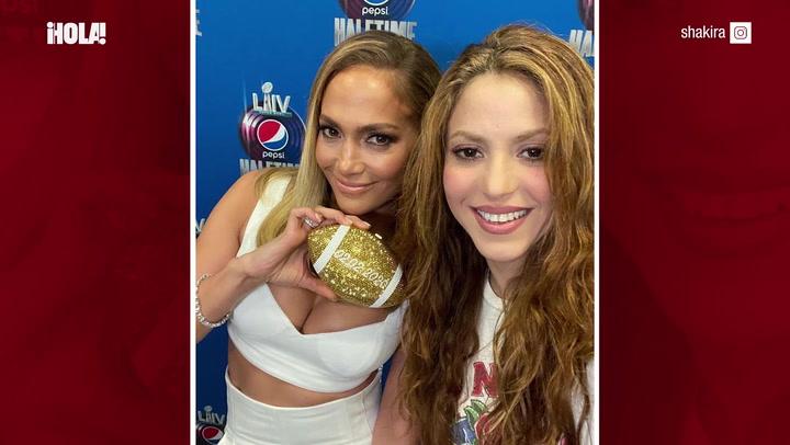 El emotivo homenaje de Shakira y Jennifer Lopez a Kobe Bryant en la Super Bowl