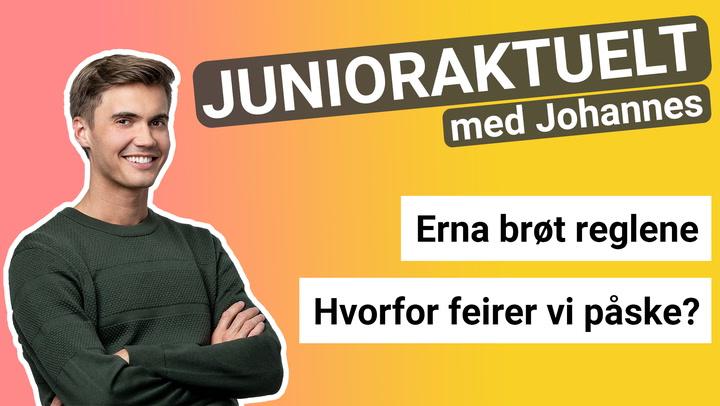 Junioraktuelt med Johannes