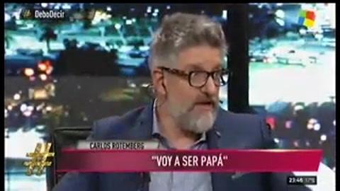 Carlos Rottemberg reveló que será papá otra vez a los 61 años